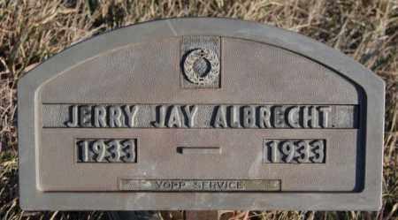 ALBRECHT, JERRY JAY - Turner County, South Dakota | JERRY JAY ALBRECHT - South Dakota Gravestone Photos