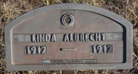 ALBRECHT, LINDA - Turner County, South Dakota | LINDA ALBRECHT - South Dakota Gravestone Photos