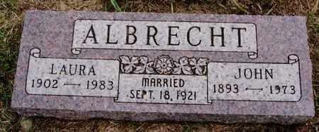 ALBRECHT, LAURA - Turner County, South Dakota | LAURA ALBRECHT - South Dakota Gravestone Photos