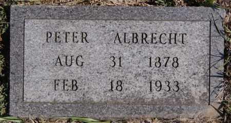 ALBRECHT, PETER - Turner County, South Dakota | PETER ALBRECHT - South Dakota Gravestone Photos