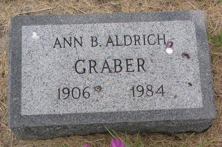 GRABER, ANN B. - Turner County, South Dakota   ANN B. GRABER - South Dakota Gravestone Photos