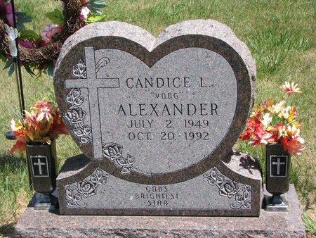 "ALEXANDER, CANDICE L. ""VOOG"" - Turner County, South Dakota | CANDICE L. ""VOOG"" ALEXANDER - South Dakota Gravestone Photos"
