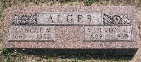 ALGER, VERNON H. - Turner County, South Dakota | VERNON H. ALGER - South Dakota Gravestone Photos