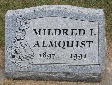 EBERLEIN ALMQUIST, MILDRED I. - Turner County, South Dakota | MILDRED I. EBERLEIN ALMQUIST - South Dakota Gravestone Photos