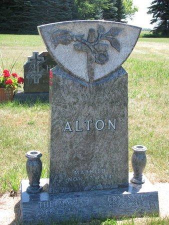 ALTON, ERNEST E. - Turner County, South Dakota | ERNEST E. ALTON - South Dakota Gravestone Photos
