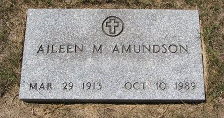 AMUNDSON, AILEEN M. - Turner County, South Dakota | AILEEN M. AMUNDSON - South Dakota Gravestone Photos