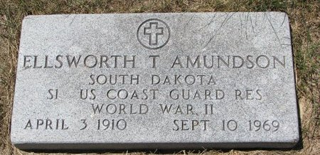 AMUNDSON, ELLSWORTH T. - Turner County, South Dakota | ELLSWORTH T. AMUNDSON - South Dakota Gravestone Photos