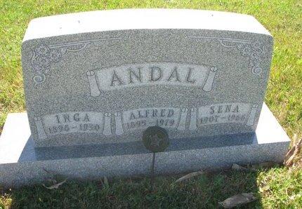 ANDERSON ANDAL, SENA - Turner County, South Dakota | SENA ANDERSON ANDAL - South Dakota Gravestone Photos