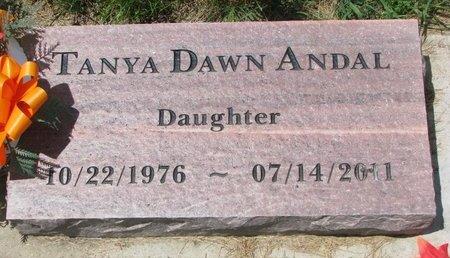 ANDAL, TANYA DAWN - Turner County, South Dakota | TANYA DAWN ANDAL - South Dakota Gravestone Photos