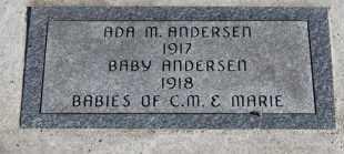 ANDERSEN, ADA M - Turner County, South Dakota | ADA M ANDERSEN - South Dakota Gravestone Photos
