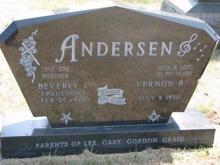 ANDERSEN, BEVERLY J. - Turner County, South Dakota | BEVERLY J. ANDERSEN - South Dakota Gravestone Photos