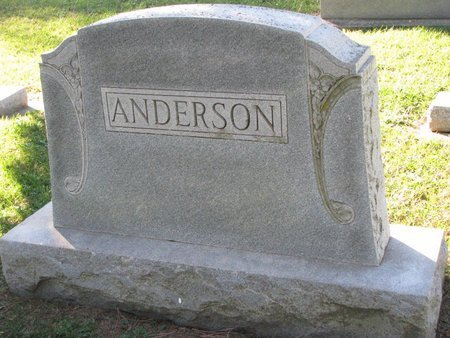ANDERSON, *FAMILY MONUMENT - Turner County, South Dakota   *FAMILY MONUMENT ANDERSON - South Dakota Gravestone Photos