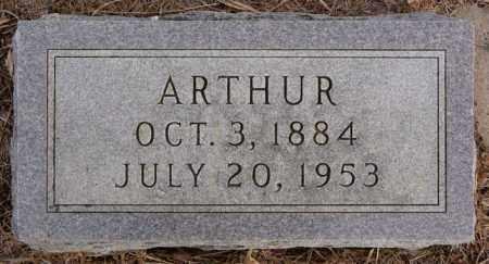 ANDERSON, ARTHUR - Turner County, South Dakota   ARTHUR ANDERSON - South Dakota Gravestone Photos