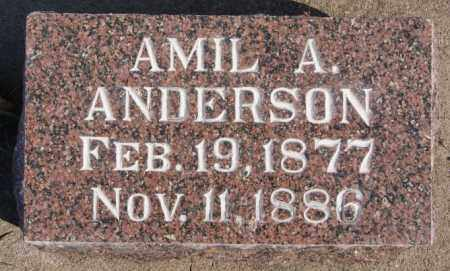 ANDERSON, AMIL A - Turner County, South Dakota | AMIL A ANDERSON - South Dakota Gravestone Photos