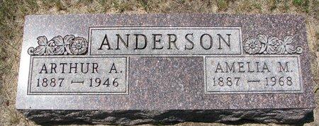 ANDERSON, ARTHUR A. - Turner County, South Dakota | ARTHUR A. ANDERSON - South Dakota Gravestone Photos