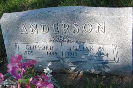 ANDERSON, CLIFFORD - Turner County, South Dakota | CLIFFORD ANDERSON - South Dakota Gravestone Photos