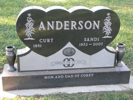 ANDERSON, SANDI - Turner County, South Dakota | SANDI ANDERSON - South Dakota Gravestone Photos