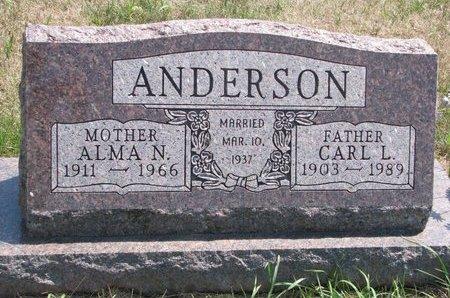 ANDERSON, CARL L. - Turner County, South Dakota | CARL L. ANDERSON - South Dakota Gravestone Photos