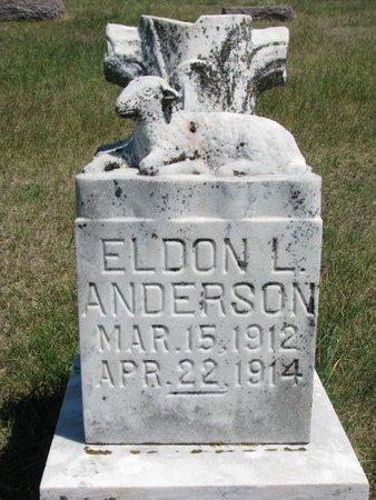 ANDERSON, ELDON L. - Turner County, South Dakota | ELDON L. ANDERSON - South Dakota Gravestone Photos