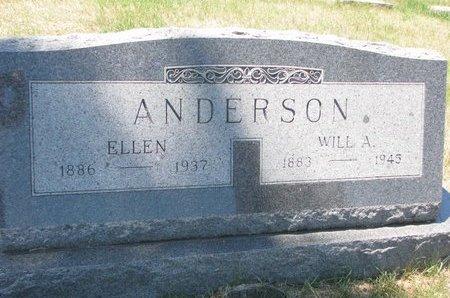 ANDERSON, ELLEN - Turner County, South Dakota | ELLEN ANDERSON - South Dakota Gravestone Photos