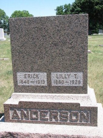 ANDERSON, ERICK - Turner County, South Dakota | ERICK ANDERSON - South Dakota Gravestone Photos