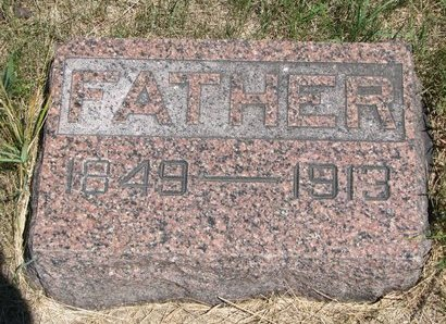 ANDERSON, ERICK (FOOTSTONE) - Turner County, South Dakota | ERICK (FOOTSTONE) ANDERSON - South Dakota Gravestone Photos