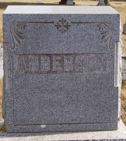 ANDERSON, FAMILY MARKER - Turner County, South Dakota | FAMILY MARKER ANDERSON - South Dakota Gravestone Photos