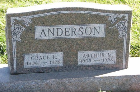 ANDERSON, GRACE L. - Turner County, South Dakota | GRACE L. ANDERSON - South Dakota Gravestone Photos