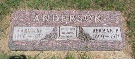ANDERSON, HERMAN P. - Turner County, South Dakota | HERMAN P. ANDERSON - South Dakota Gravestone Photos