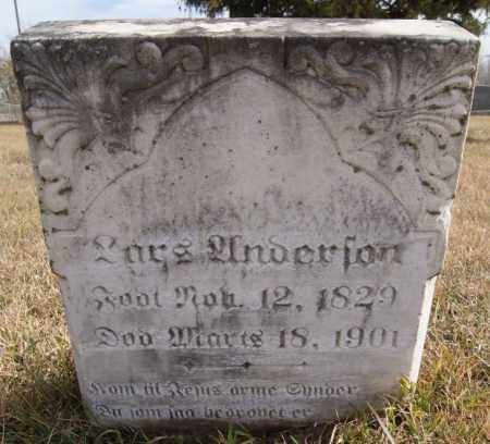 ANDERSON, LARS - Turner County, South Dakota | LARS ANDERSON - South Dakota Gravestone Photos