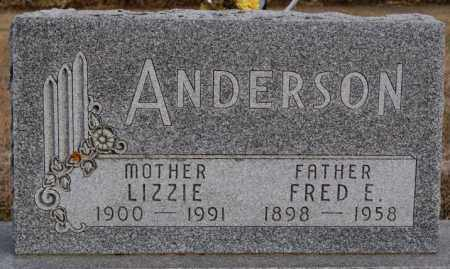 ANDERSON, FRED E - Turner County, South Dakota | FRED E ANDERSON - South Dakota Gravestone Photos