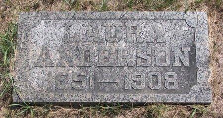 ANDERSON, LAURA - Turner County, South Dakota | LAURA ANDERSON - South Dakota Gravestone Photos