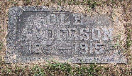 ANDERSON, OLE - Turner County, South Dakota | OLE ANDERSON - South Dakota Gravestone Photos