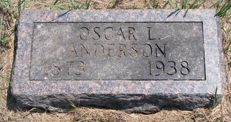 ANDERSON, OSCAR L. - Turner County, South Dakota | OSCAR L. ANDERSON - South Dakota Gravestone Photos