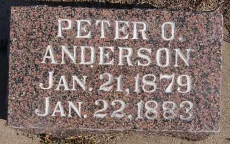 ANDERSON, PETER O - Turner County, South Dakota   PETER O ANDERSON - South Dakota Gravestone Photos