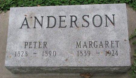 ANDERSON, MARGARET - Turner County, South Dakota | MARGARET ANDERSON - South Dakota Gravestone Photos