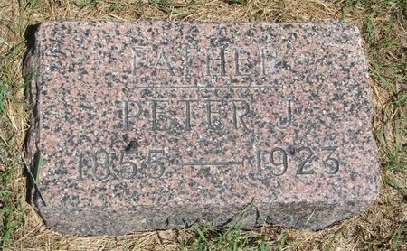 ANDERSON, PETER J. - Turner County, South Dakota | PETER J. ANDERSON - South Dakota Gravestone Photos