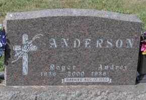 ANDERSON, ROGER - Turner County, South Dakota | ROGER ANDERSON - South Dakota Gravestone Photos