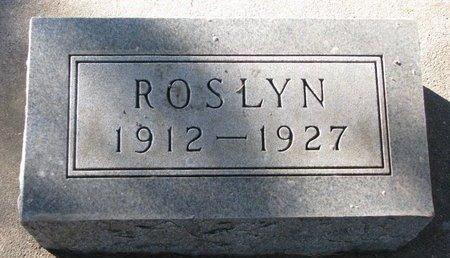 ANDERSON, ROSLYN - Turner County, South Dakota | ROSLYN ANDERSON - South Dakota Gravestone Photos