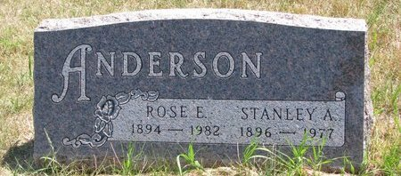 ANDERSON, STANLEY A. - Turner County, South Dakota | STANLEY A. ANDERSON - South Dakota Gravestone Photos