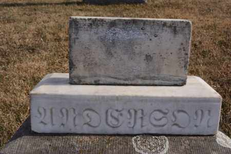 ANDERSON, UNKNOWN - Turner County, South Dakota | UNKNOWN ANDERSON - South Dakota Gravestone Photos