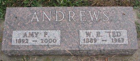 ANDREWS, AMY F. - Turner County, South Dakota | AMY F. ANDREWS - South Dakota Gravestone Photos