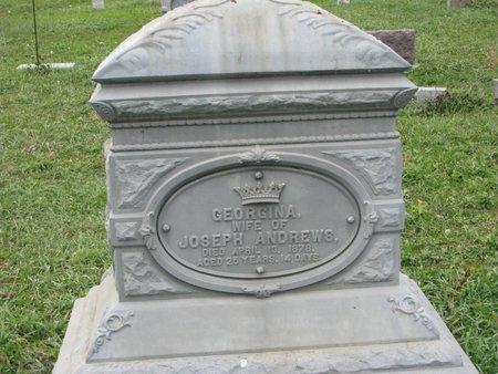 ANDREWS, GEORGINA - Turner County, South Dakota   GEORGINA ANDREWS - South Dakota Gravestone Photos
