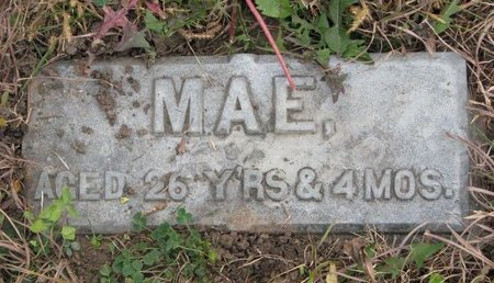 ANDREWS, MAE P. (FOOTSTONE) - Turner County, South Dakota | MAE P. (FOOTSTONE) ANDREWS - South Dakota Gravestone Photos