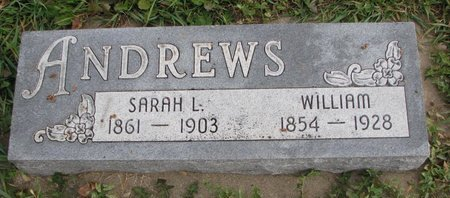 ANDREWS, WILLIAM - Turner County, South Dakota | WILLIAM ANDREWS - South Dakota Gravestone Photos