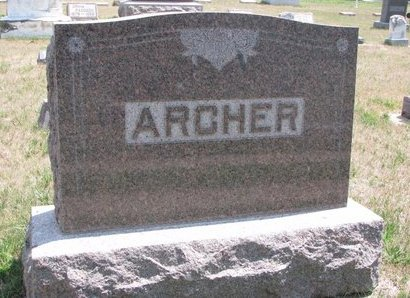 ARCHER, *FAMILY MONUMENT - Turner County, South Dakota | *FAMILY MONUMENT ARCHER - South Dakota Gravestone Photos