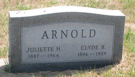 ARNOLD, CLYDE B. - Turner County, South Dakota | CLYDE B. ARNOLD - South Dakota Gravestone Photos