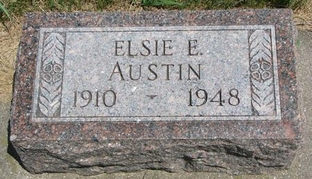 AUSTIN, ELSIE E. - Turner County, South Dakota | ELSIE E. AUSTIN - South Dakota Gravestone Photos