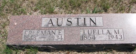 AUSTIN, FREEMAN E. - Turner County, South Dakota | FREEMAN E. AUSTIN - South Dakota Gravestone Photos