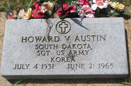AUSTIN, HOWARD V. (MILITARY) - Turner County, South Dakota | HOWARD V. (MILITARY) AUSTIN - South Dakota Gravestone Photos